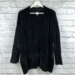 A New Day Chenille Open Front Cardigan Sweater M
